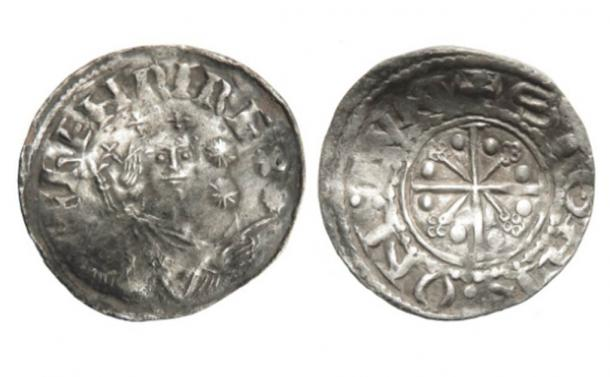 Walter Taylor's Henry I rare medieval coin find. (Hansons Auctioneers)