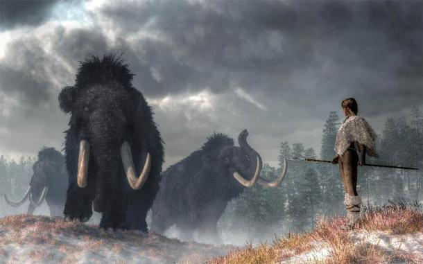 Clovis weapons may have been developed to hunt the last of the North American megafauna. (Daniel /Adobe Stock)