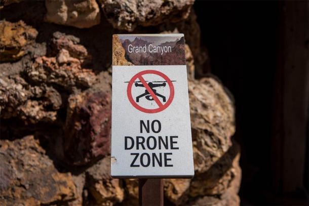 No drone zone in the Grand Canyon. (kellyvandellen / Adobe Stock)