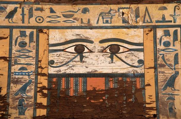 Detail of the ancient tomb under investigation. (Patricia Mora / Proyecto Qubbet-el Hawa)