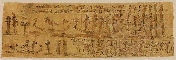 Book of the Dead papyrus covering chapters 100-129. (Metropolitan Museum of Art / CC0)