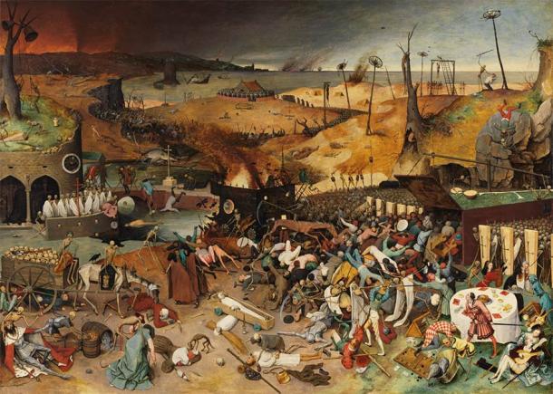 'The Triumph of Death' (1562) by Pieter Brueghel the Elder. (Public Domain)