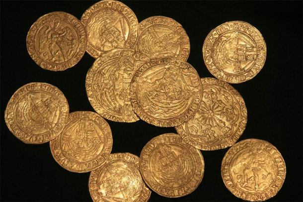 The Tudor coin hoard was particularly interesting. (© The Trustees of the British Museum)