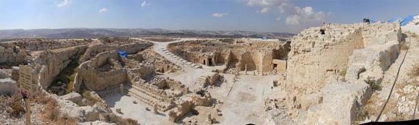 Ruins of Herodium. (Eitan Ya'aran)