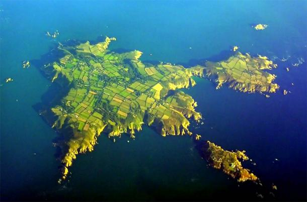 The island of Sark in the English Channel was Eustace the Monk's private pirate base with the backing of King John