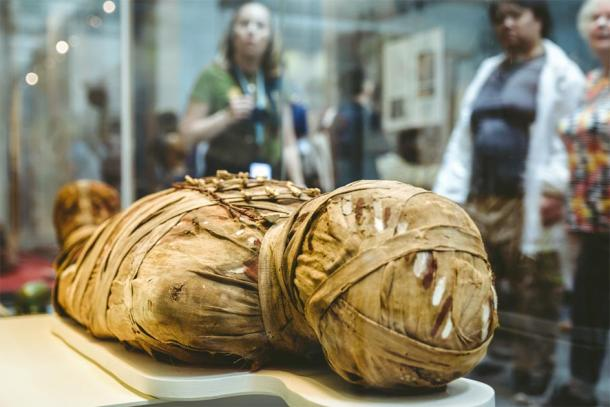 Ancient Egyptian mummy. (Jaroslav Moravcik / Adobe stock)
