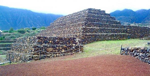 One of the pyramids of Güímar (Image: Colin Moss)