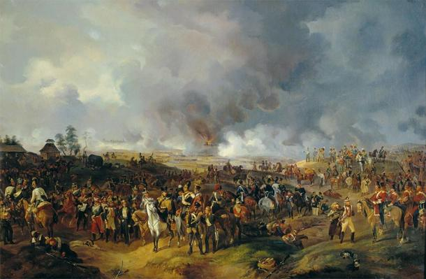 Depiction of the Battle of Leipzig. (Alexander Sauerweid / Public domain)