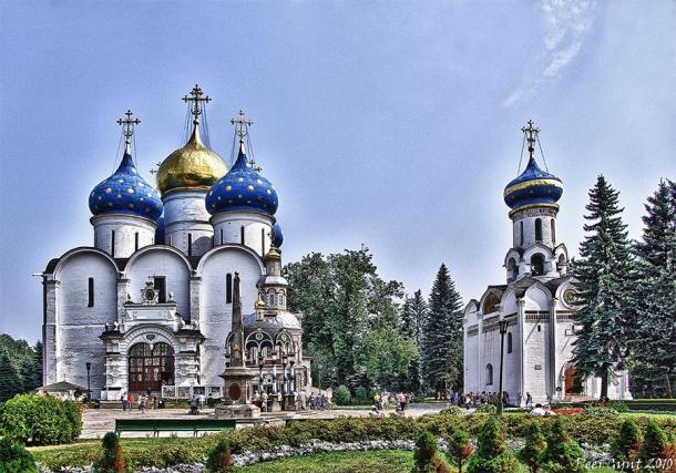 The Cathedral of the Assumption one of the churches of the Kremlin. (Andrey Korchagin / CC BY-NC-SA 2.0)