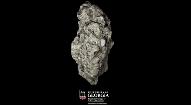 Tabby es un tipo de hormigón hecho de conchas, arena, cenizas y agua. (Imagen: Franklin College of Arts and Science, Universidad de Georgia)