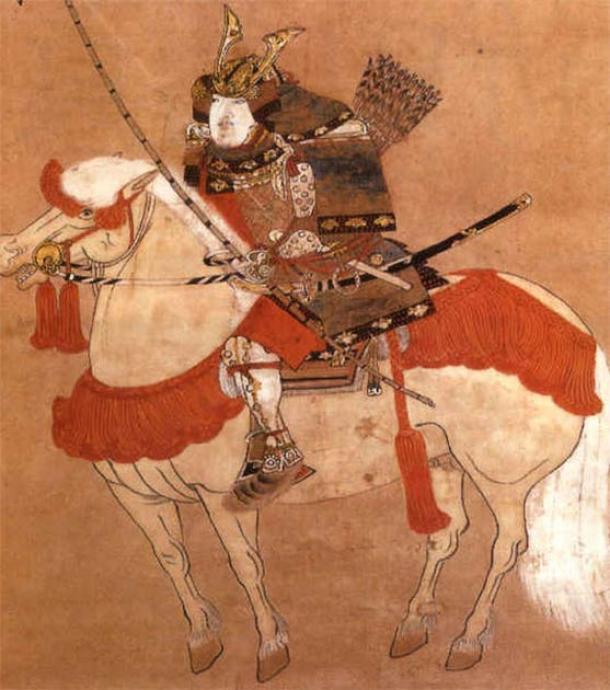 El shogun japonés shogun Ashikaga Takauji. (Dominio publico)
