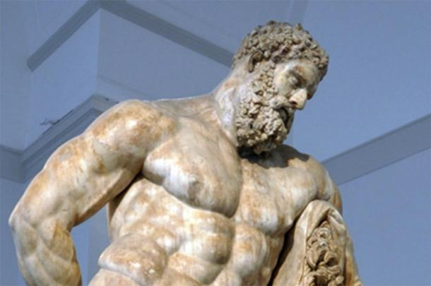One of the most famous depictions of Heracles, the Greek hero whom some say the 'Boxer at Rest' is modeled after. (DIEGO73 / CC BY-SA 2.0)