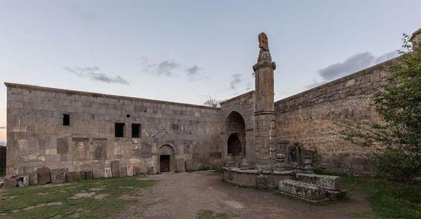 The Gavazan Column at Tatev Monastery (Diego Delso / CC BY-SA)