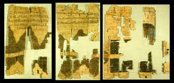 Right half of the ancient Egyptian Turin papyrus map. (Public Domain) Hapgood concluded that the ancient Egyptians had more advanced science than the Greeks.