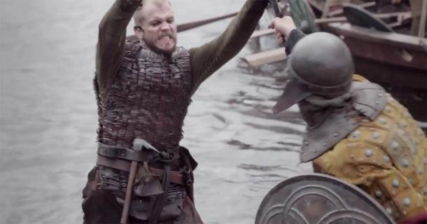The popular Viking TV show Floki character (left) was based on the historical Hrafna-Flóki Vilgerðarson. (NickStriker / CC BY-SA 4.0)