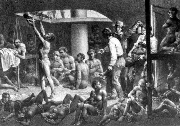 Latin America was the destination of millions of African slaves. (Public domain)
