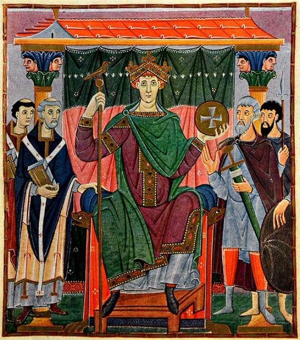 Otto the Great quashed the Slavic rebellion led by Obodrite ruler Nakon in 955 at the Battle of Raxa River, forcing them to adopt Christianity. (Public domain)
