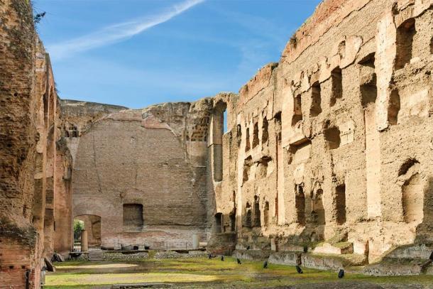 Baths of Caracalla, interior view of the site (Pierrette Guertin / Adobe Stock)