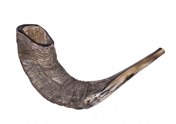 A shofar ritual ram's horn. (Zachi Evenor / CC BY 3.0)