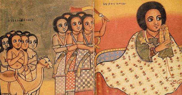 After defeating the last Zagwe king, Yekuno Amlack established the Ethiopian Empire and became the head of the ruling Solomonic Dynasty which remained in power until 1974. (Public domain)
