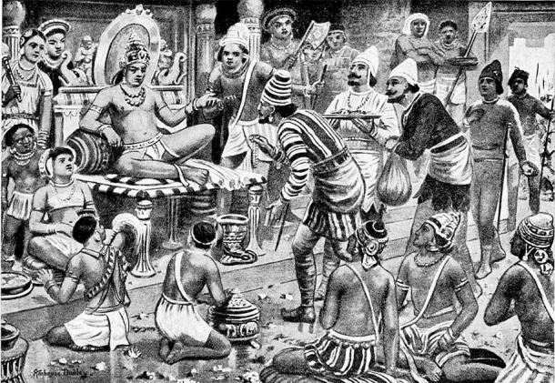 Pulakesi II continued the expansionist policies of the Chalukyas, and even defeated Harsha in battle. (Public domain)