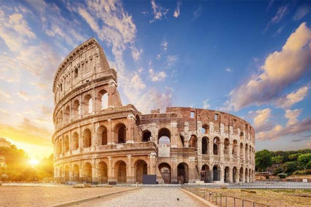 The Coliseum is one of the most famous examples of great Roman engineering. (phant /Adobe Stock)
