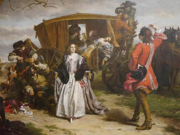 'Claude Duval' (1859), by Powell Frith in Manchester Art Gallery. (CC BY 2.0)