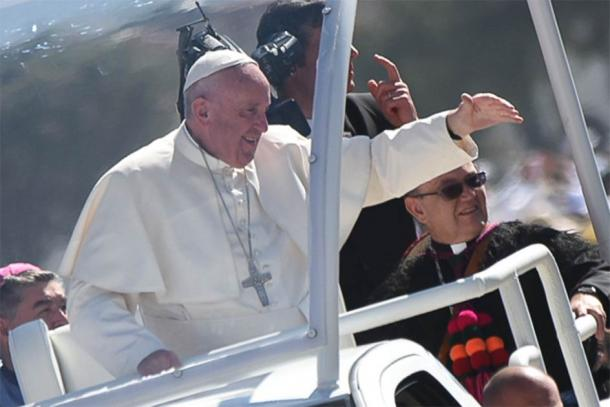 Pope Francis dedicated his February 2016 tour of Mexico to speaking with marginalized people. Will he now apologize to the Mexican people for the role the Catholic Church played in the Spanish conquest? (Aleteja Image Department / CC BY 2.0)