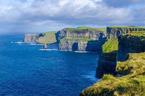 The Cliffs of Moher, which have appeared in various shows and movies (Douglas / Adobe Stock)