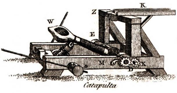 Ajatashatru usó catapultas en sus batallas contra sus enemigos. (Francis Grose / Dominio público)