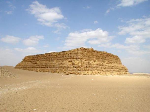 Mastaba of Pharaoh Shepseskaf of the 4th dynasty. (Jon Bodsworth)