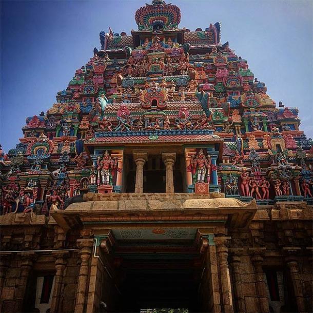 Madurai Meenakshi Temple (CC BY-SA 4.0)