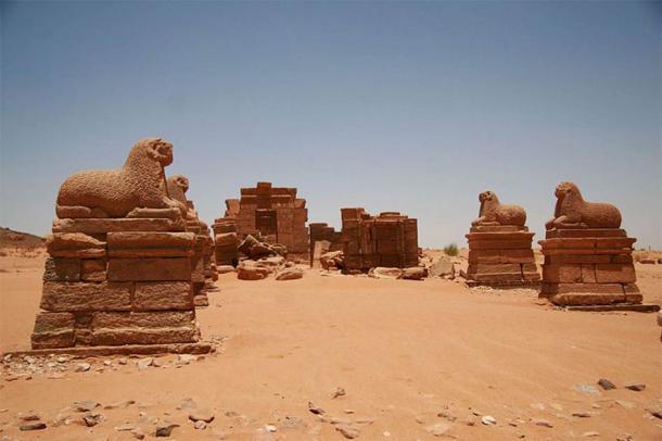 Nubian Temple of Amun in Naqa (CC BY-SA 3.0)
