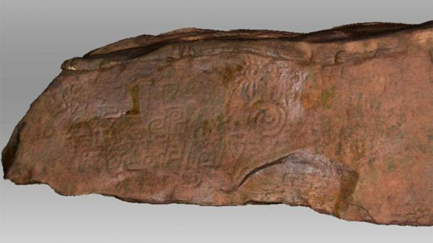 The above scan of the Peruvian monolith but now seen in its true color. (Daniel Fernandez-Davila / Exact Metrology)