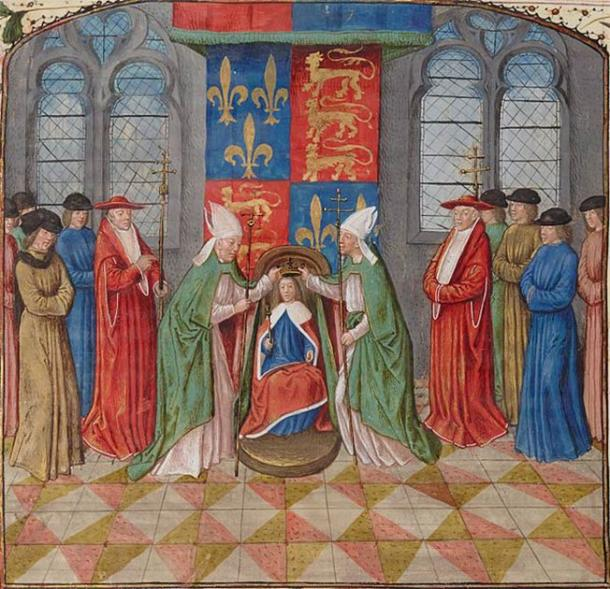 King Henry VI of England, was the only son of Catherine of Valois and Henry V. He was crowned King of France in 1431 at just 10 year of age. (Public domain)
