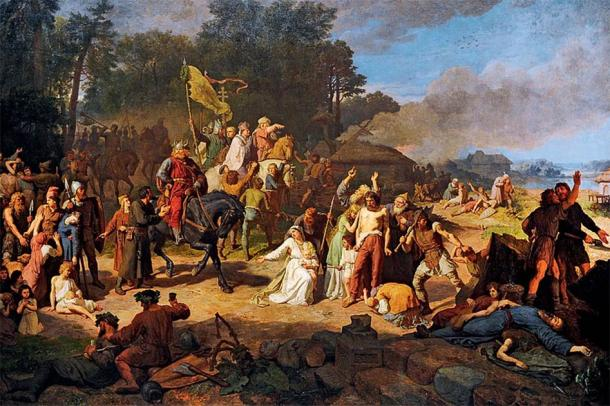 The Wendish Crusade was a major military campaign, conducted by the Kingdom of Germany and the Holy Roman Empire, directed against the Polabian Slavs (called the Wends by the Germans). (Public domain)