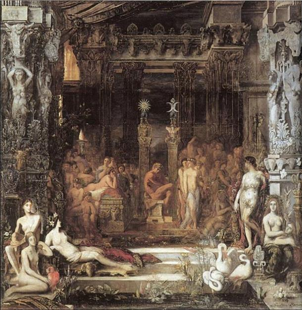 'Daughters of Thespius' (1853) by Gustave Moreau. (Public Domain)