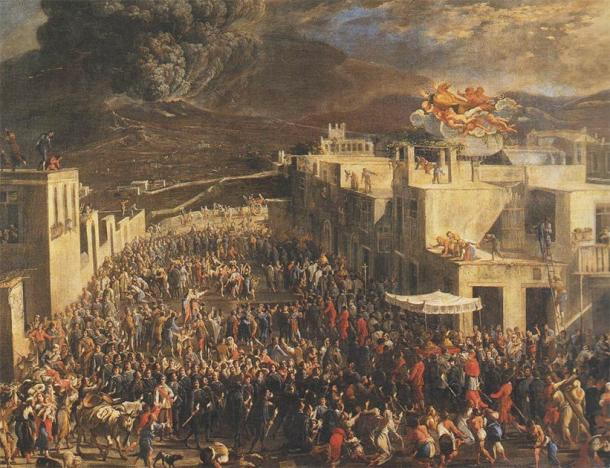 The San Gennaro procession in Naples in 1631, dedicated to the Patron Saint of Naples, Saint Januarius. (Micco Spadaro / Public domain)