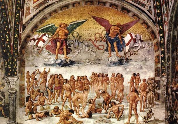 'Resurrection of the Flesh' (circa 1499-1502) by Luca Signorelli. (Public Domain)