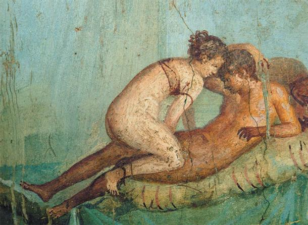 Lower caste Roman prostitutes were usually naked. (Public domain)