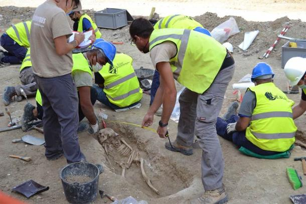 The discovery of the well-preserved ancient Muslim graves in Tauste has provided researchers with a wealth of archaeological and ancient genetic information. (El Patiaz Asociacion Cultural)