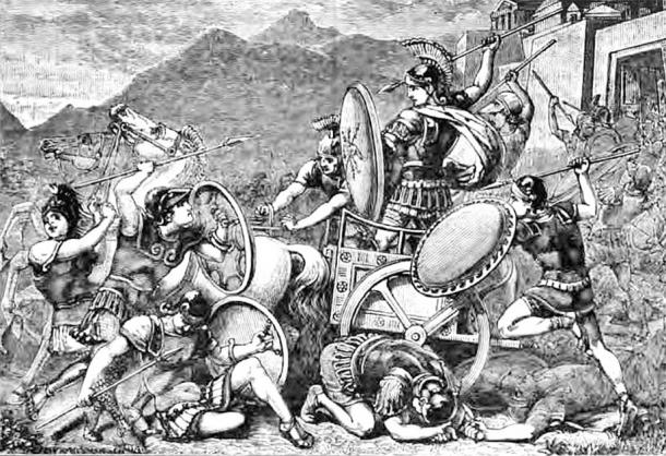 Aristomenes is known for having famously resisted the Spartans on Eira Mountain during the Second Messenian War.  (Public domain)