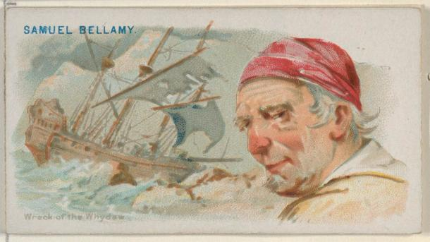 Black Bellamy was a famous pirate and also the richest pirate ever. (Allen & Ginter / CC0)