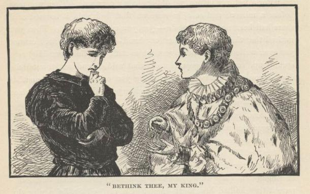 There were benefits to being a whipping boy. Many became close confidants of the nobles they served. (Public domain)