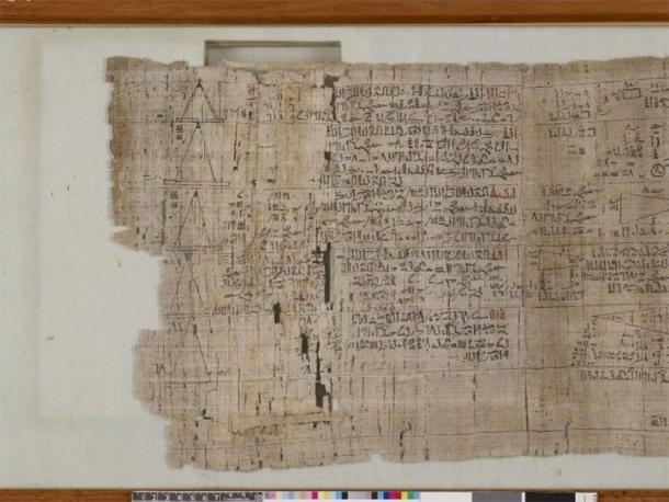 Il Rhind Mathematical Papyrus.
