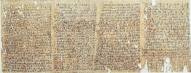 Westcar Papyrus – Tales of Magicians similar to the Exodus stories. (Fotowerkstatt/CC BY SA 2.5)