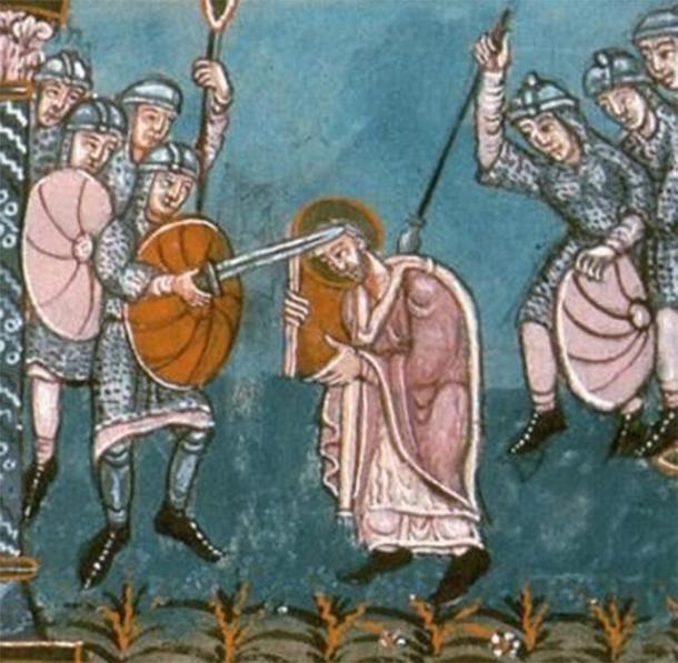 The attack on Frisian Bishop Boniface. (Public Domain)