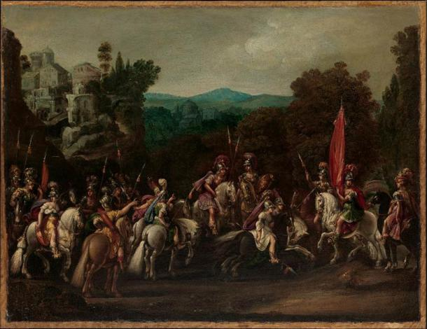 'Departure of the Amazons' (1620s) by Claude Deruet. (CC0)