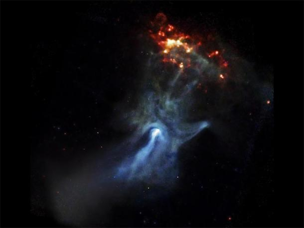 A young pulsar shows its hand. (NASA)