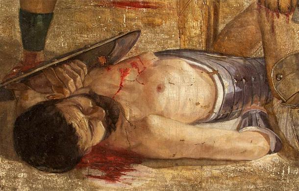 Flamma chose death in the arena over freedom. But why? (Public domain)